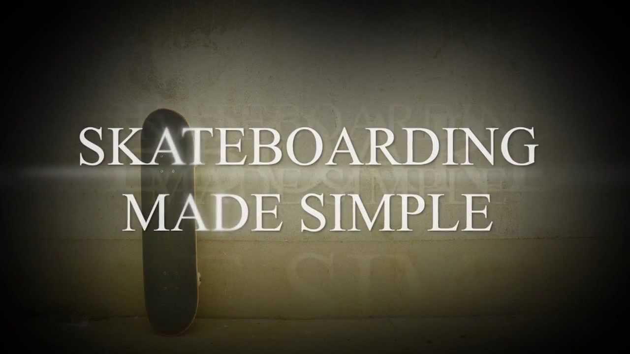 simple skateboarding