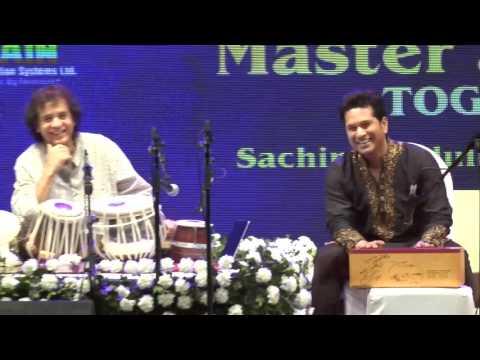 Master And Maestro Together With Zakir Hussain And Sachin Tendulkar