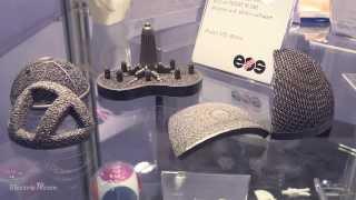 EOS M280 3D Metal Printer Demo @ PD&M 2014
