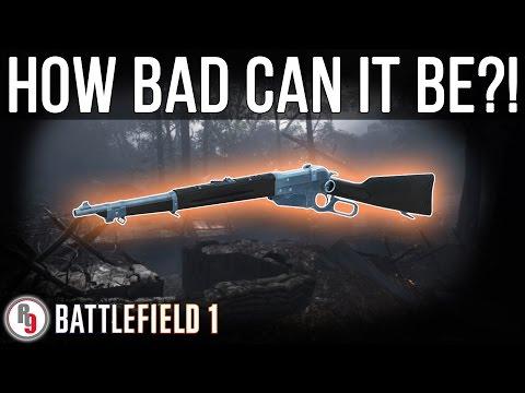 Least used Scout Rifle in Battlefield 1?