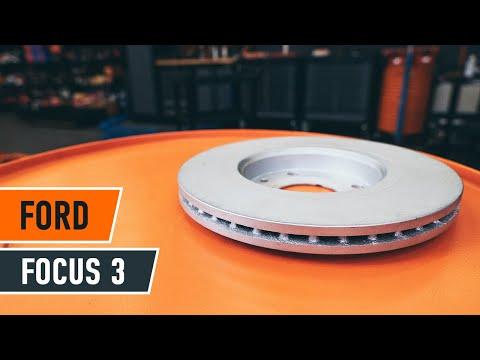 remplacement des disques de frein avant plaquettes de frein avant ford focus 3 tutoriel. Black Bedroom Furniture Sets. Home Design Ideas