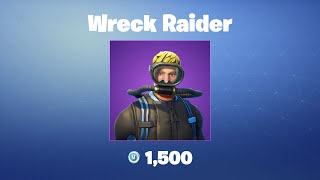 Wreck Raider | Fortnite Outfit/Skin