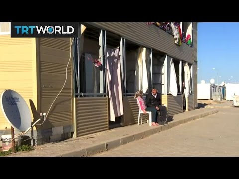 Refugees at the Oncupinar camp are coping as best they can