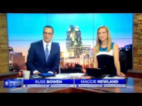 WNCN CBS North Carolina News at 6:00am open April 4, 2017