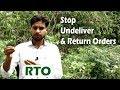 Return & Undeliver Orders - RTO - Ecom Seller Tips