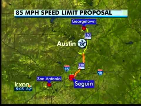Zoom! Highway 130 may get 85 mph limit