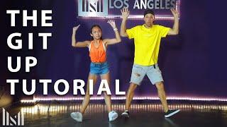 THE GIT UP Dance Choreography Tutorial with Matt Steffanina & Nicole Laeno