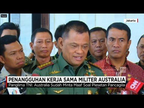 Indonesia Hentikan Sementara Kerja Sama Militer dengan Australia
