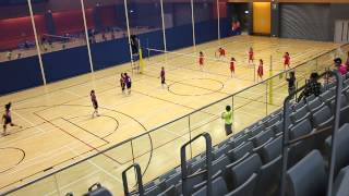 大嶼山小學校際女排賽2013 - 秀德 對 溫浩根 (set