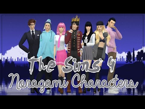 The Sims 4 Create A Sim | Anime Character | Noragami