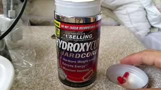 Weight Loss Supplements - Hydroxycut Hardcore Weight Loss Supplement (Update Review)