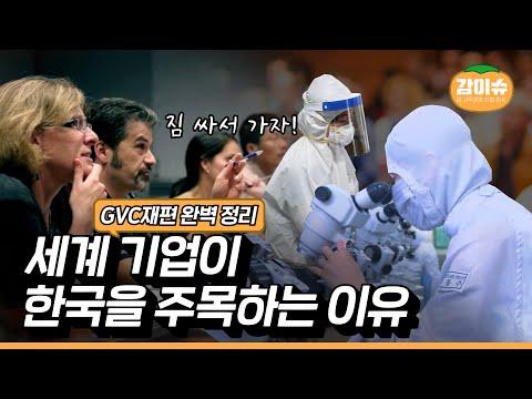 세계 기업들은 왜 한국에 주목하는가? 글로벌공급망(GVC) 재편 완벽정리 | 감이슈
