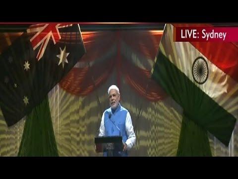 Prime Minister Narendra Modi's Full Speech In Sydney, Australia