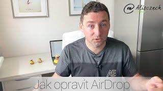 Jak opravit a používat AirDrop? (Alisczech vol. 79)