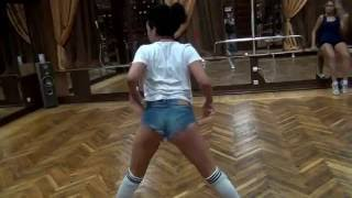 Dasha Mamba twerk freestyle #2. Открытый урок в La Vida (Пенза)