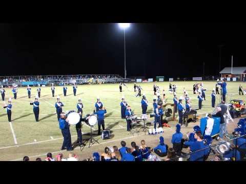 MHS vs Beauregard High School Half-Time Performance