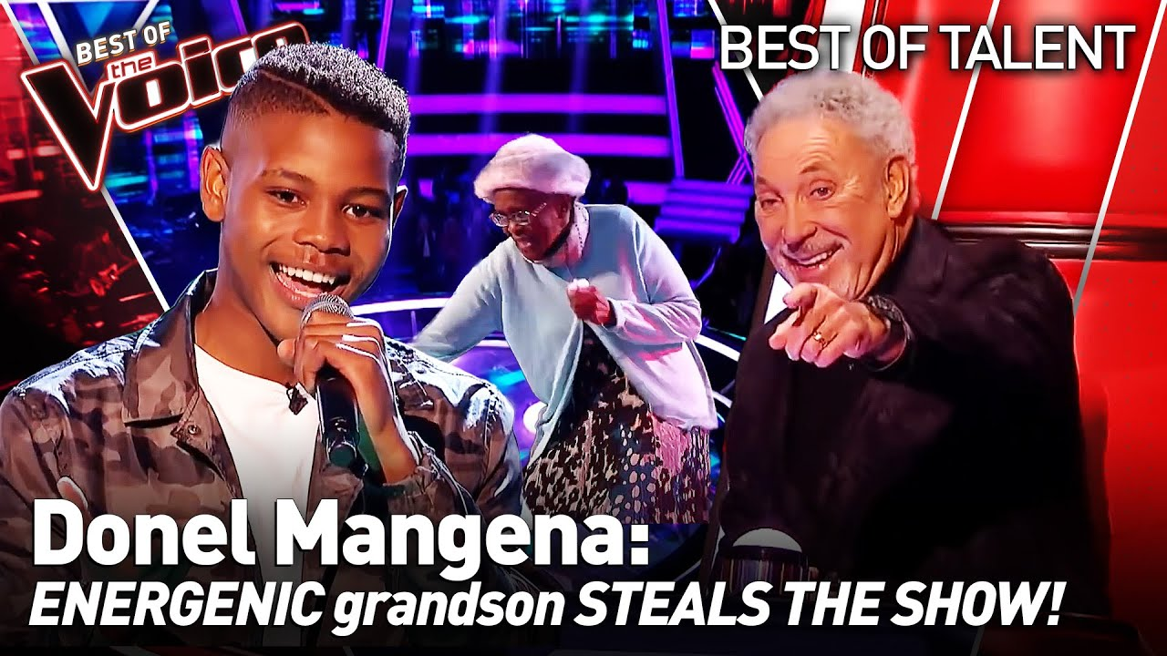 Download 16-Year-Old OWNS the show with his GRANDMA in The Voice