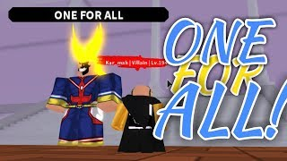 HOW TO GET ONE FOR ALL! | Plus Ultra | ROBLOX