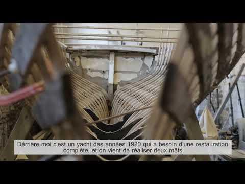 Presentation of a profession: Yacht Restorer (English, French subtitles).