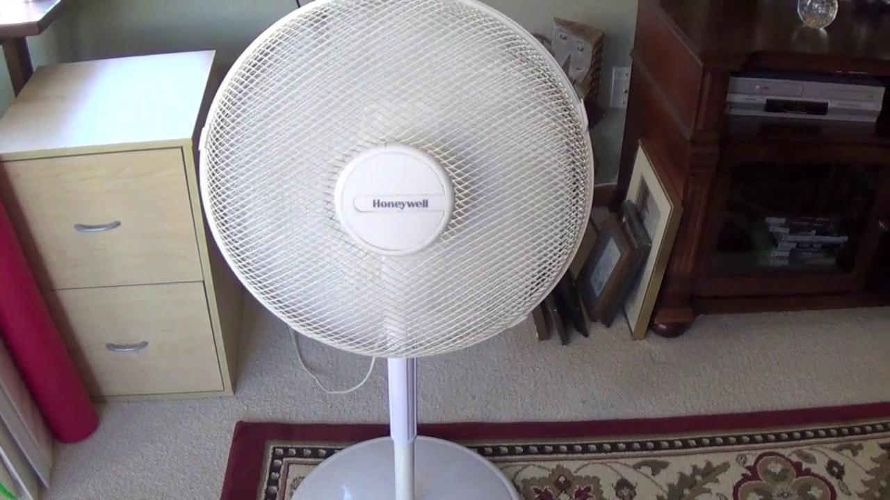 2001 Honeywell Pedestal Fan Youtube