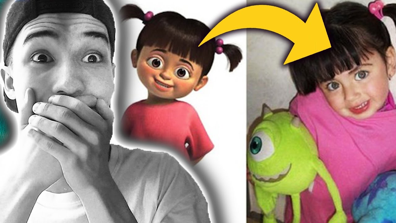 9 Cartoon Characters And Their Real Life : Real life cartoon characters youtube