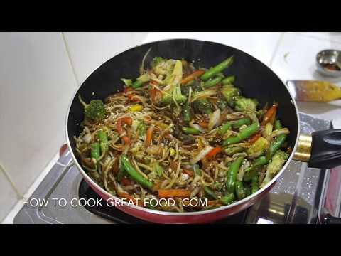 Easy Vegetable Stir Fry Recipe - Simple Vegan Chinese Veg