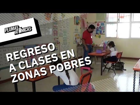 El regreso a clases, un reto en zonas pobres