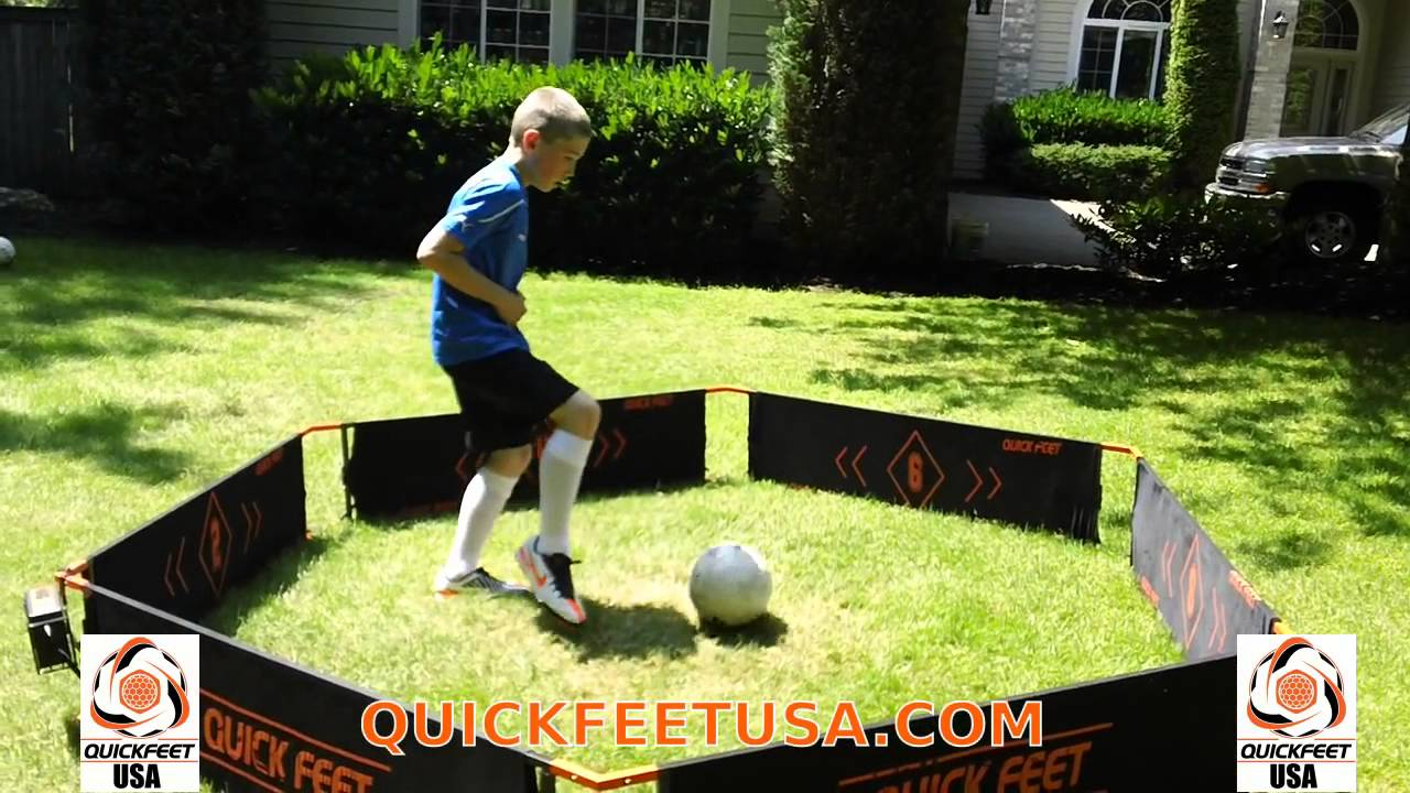 Quick Feet Soccer Training- Custom Workout- Quick Feet Coach - YouTube 28f0dcb8c