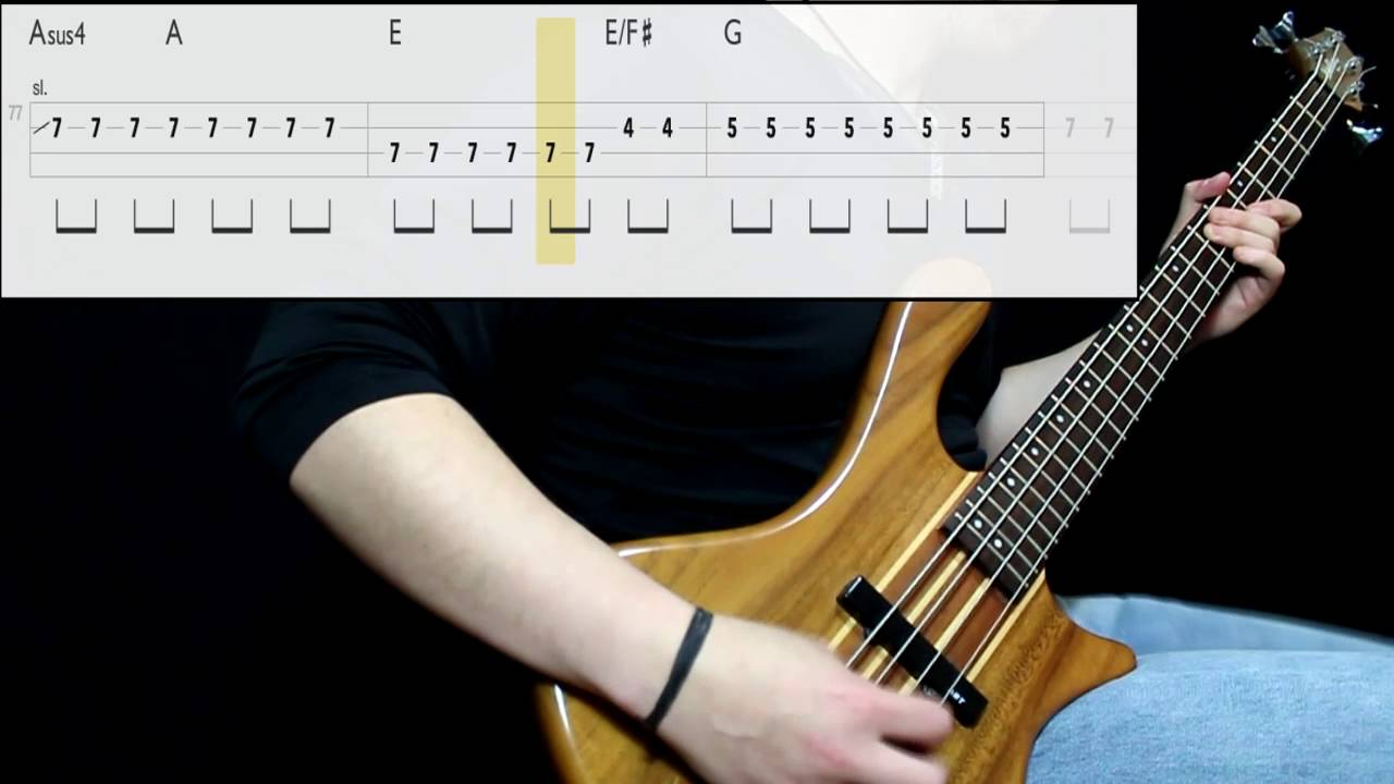 foo-fighters-learn-to-fly-bass-cover-play-along-tabs-in-video-coversolutions