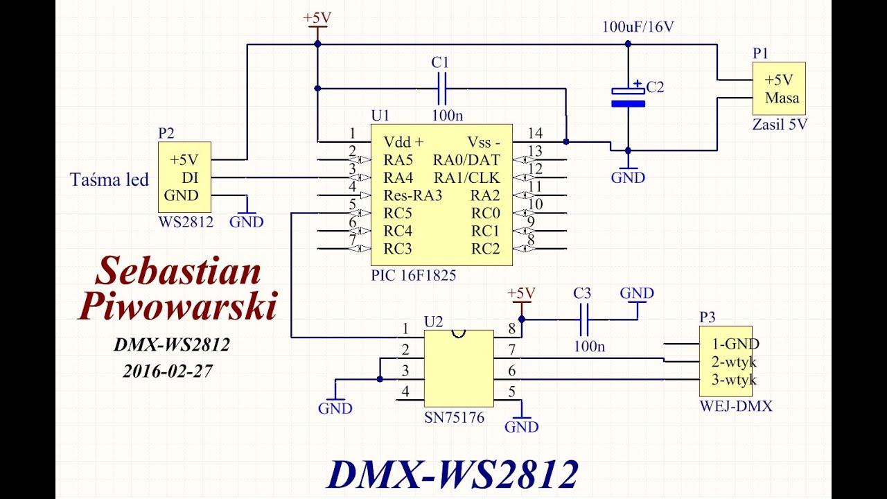 brand new 3ec34 6ff22 DMX WS2812