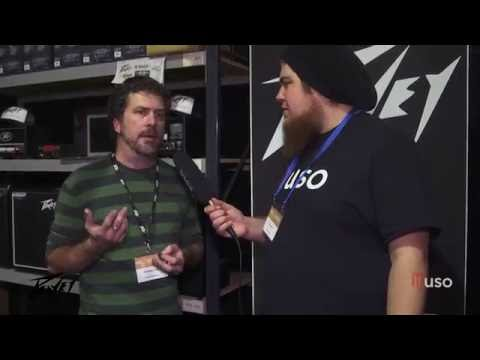 Peavey - Galactic Music -  Melbourne Guitar Show Interview