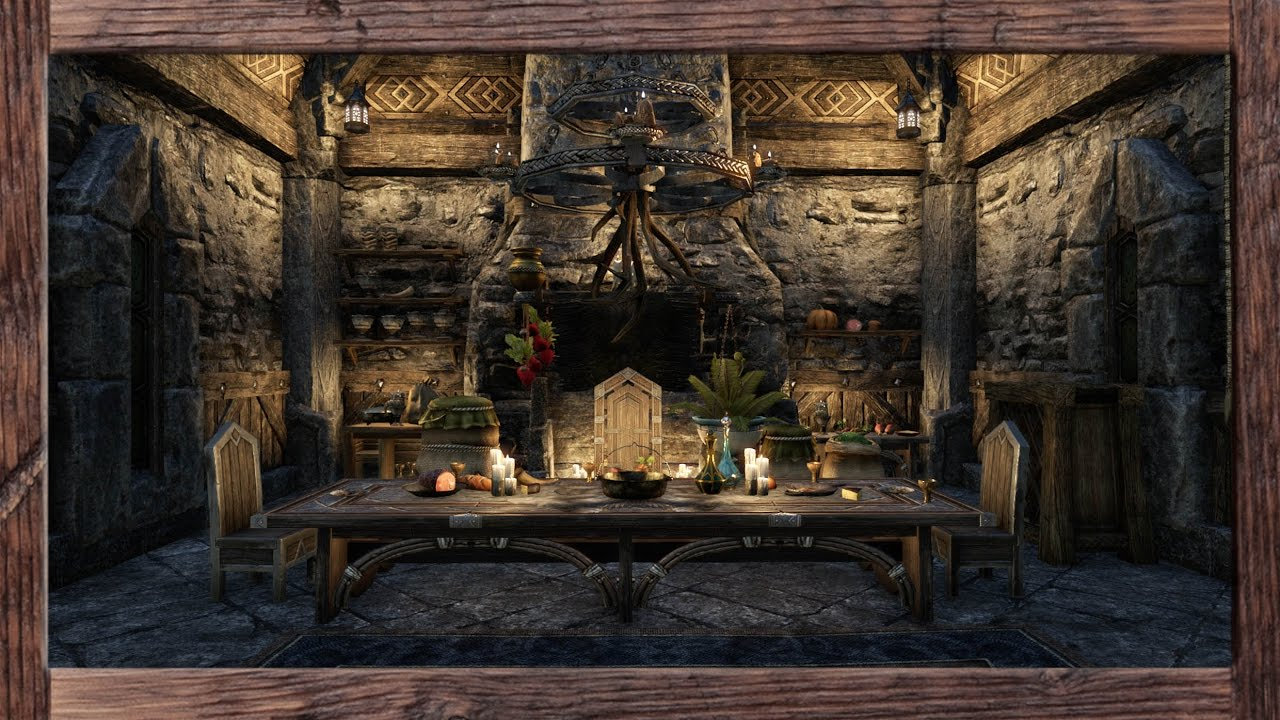 Eso Homestead Decorating A Small Orc Home On Pts Youtube