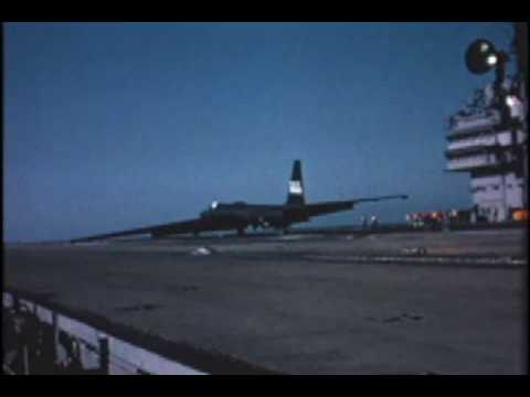 U-2 carrier take offs and landings