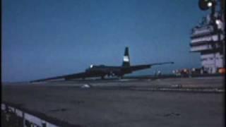 U-2 carrier take offs and landings