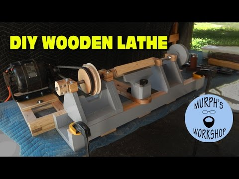 DIY Wooden Lathe