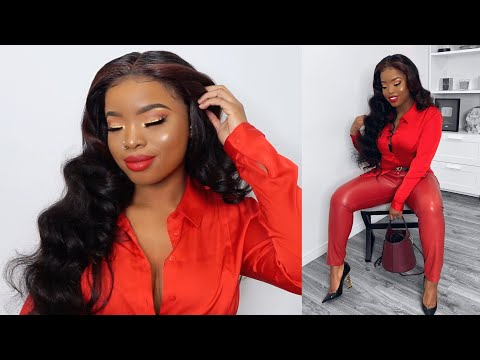 GRWM: Flawless Holiday Makeup + Wig Slay + Outfit || ft. ALIPEARL