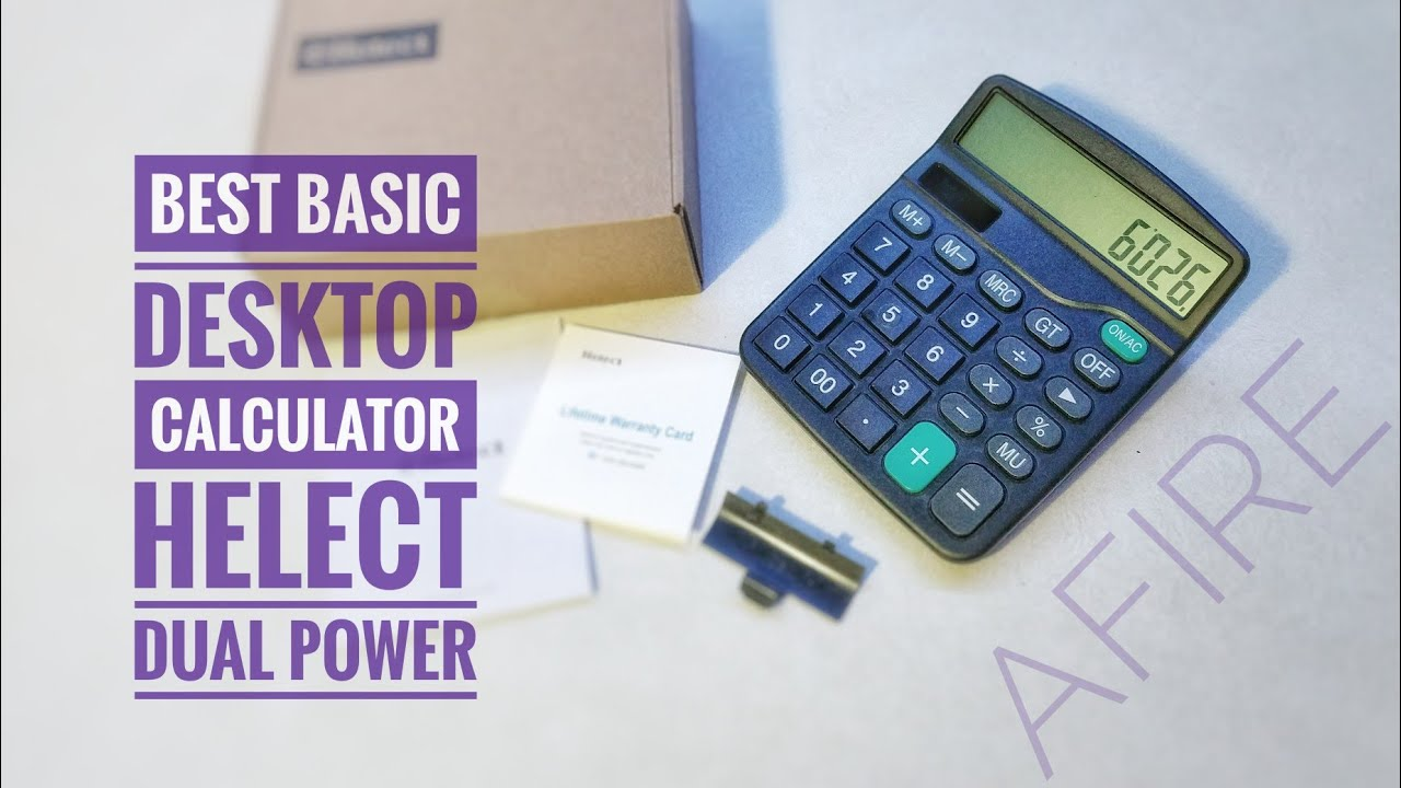 best budget desktop calculator helect standard function youtube