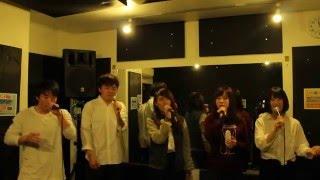 大阪府立大学アカペラサークルONEBEENS 2016年夏合宿にて企画バンドとし...