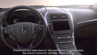 Система дистанційного запуску | Лінкольн відео