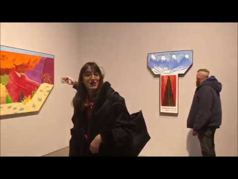 David Hockney at Pace Gallery by Arte Fuse
