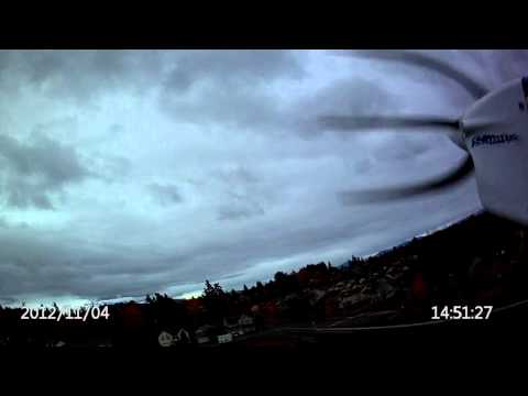 First video taken with the Hobby King HD Wing Camera II over Honeydew Elementary School Renton WA
