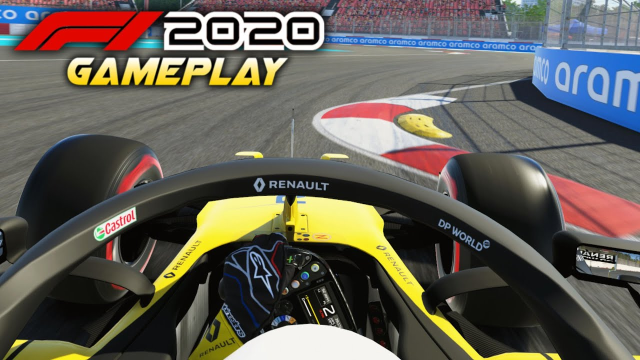 F1 2020 Gameplay: FIRST EVER LAPS OF HANOI! THE NEW VIETNAM TRACK ON F1 2020!