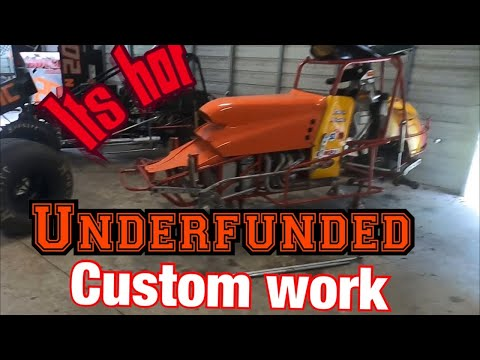 Underfunded Sprint Car Custom Work