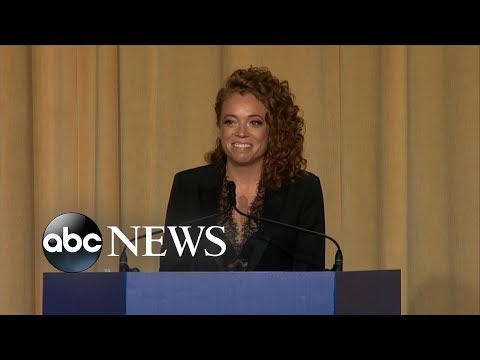 Michelle Wolf performs stand-up routine at White House Correspondents dinner