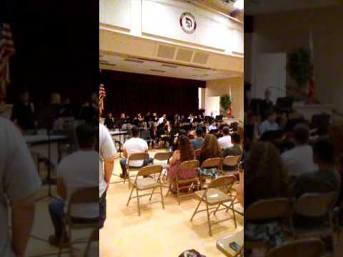 Divisadero Middle School Jazz Band Concert 2016-2017
