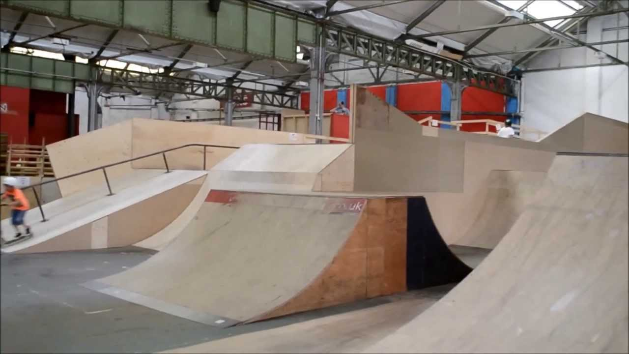 Day edit creation skatepark youtube for Indoor skatepark design uk