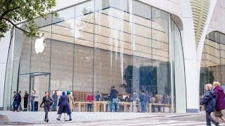 Apple Store Brussels Opening!!!