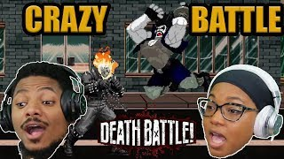Ghost Rider VS Lobo AMAZING Death Battle! REACTION