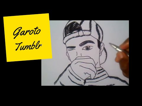 Como Desenhar Garoto Tumblr How To Draw Boy Tumblr Youtube
