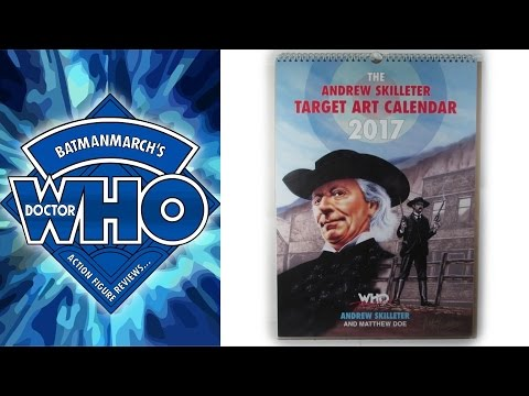 Doctor Who Review: The Andrew Skilleter Target Art Calendar 2017